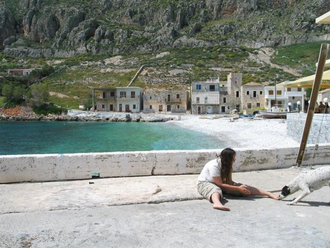 Barefoot in Greece
